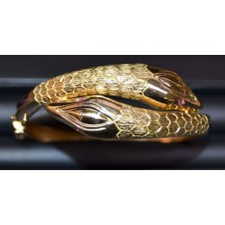 Bracelet serpent Or 750